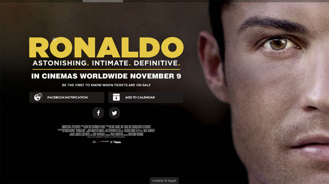 Ronaldo Official Movie Poster
