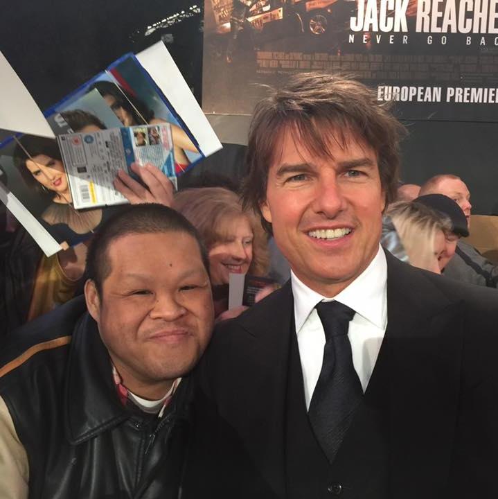 Tom Cruise Jack Reacher Never Go Back London Premiere