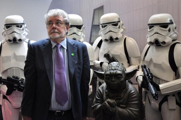 George Lucas Star Wars Stormtroopers