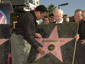 Muhammad Ali gets Star Walk of Fame