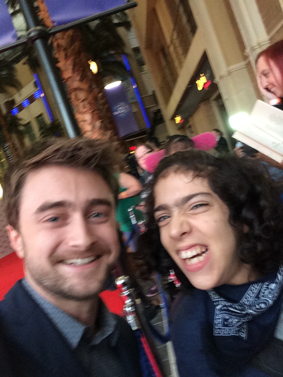 Daniel Radcliffe Swiss Army Man Premiere London