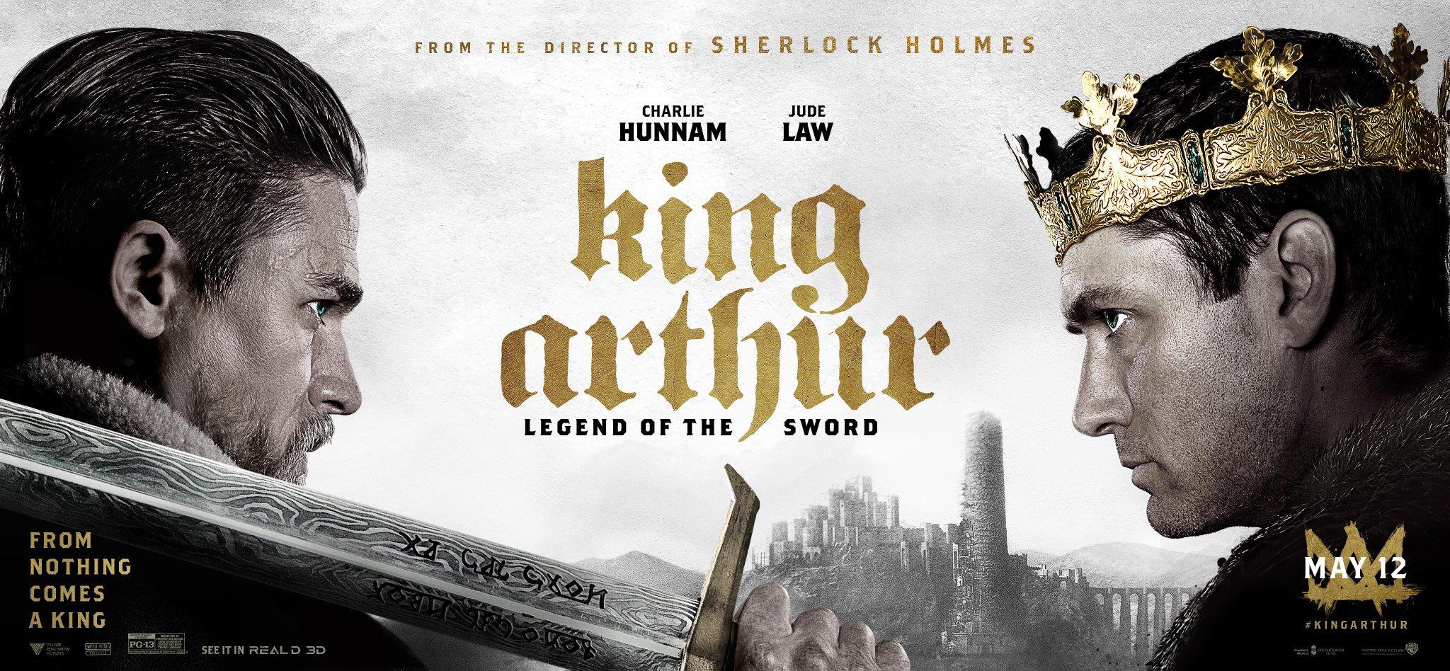 King Arthur: Legend of the Sword Offiical Poster