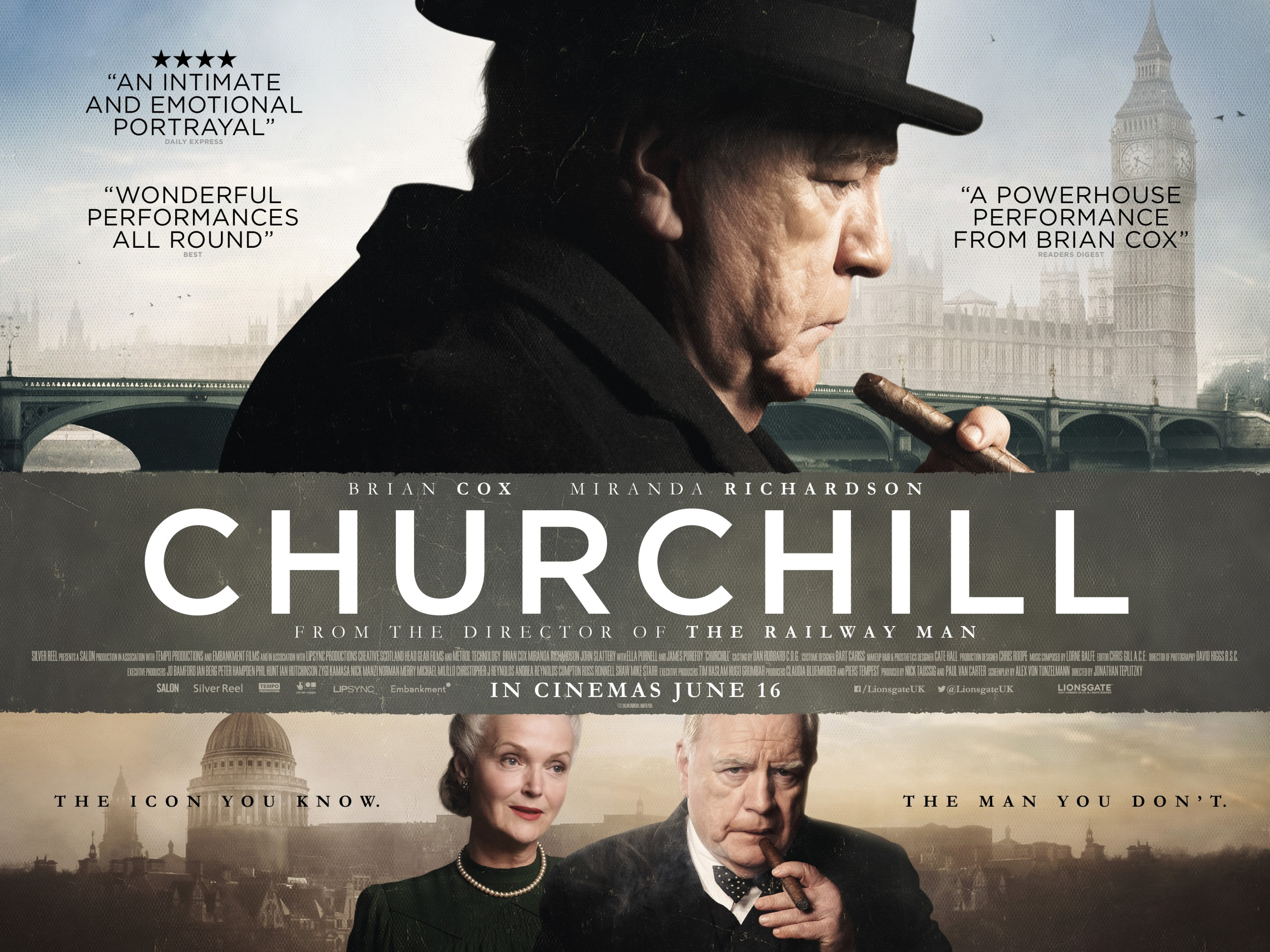 Churchill Official Movie Poster