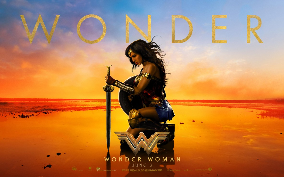 Wonder Woman official wallpaper London film premiere