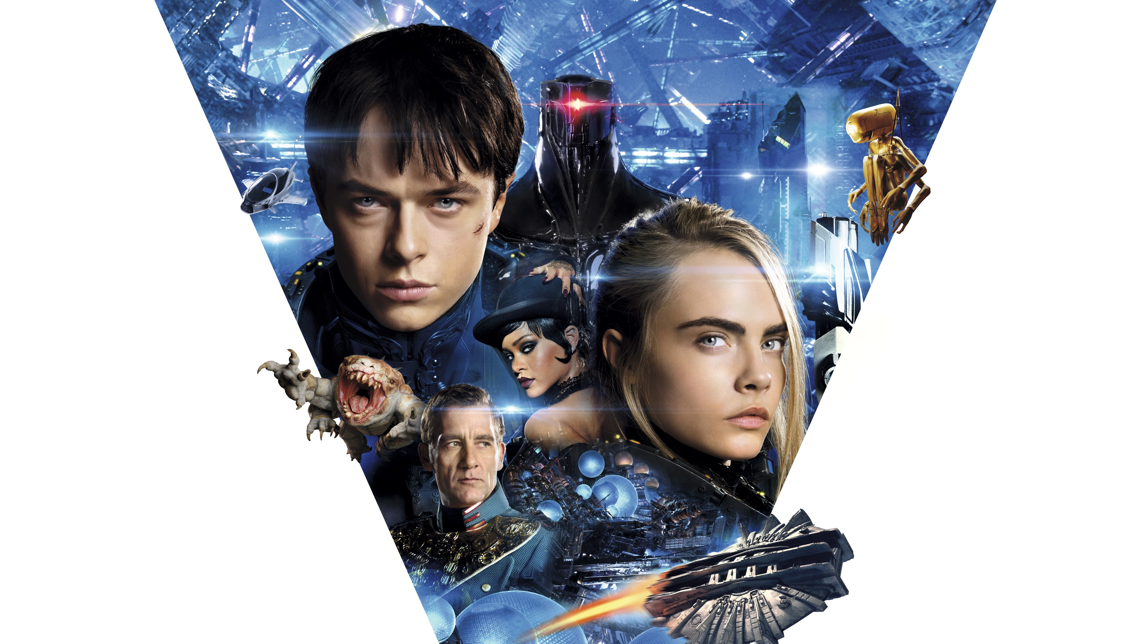 Valerian and the City of a Thousand Planets Official Movie Wallpaper