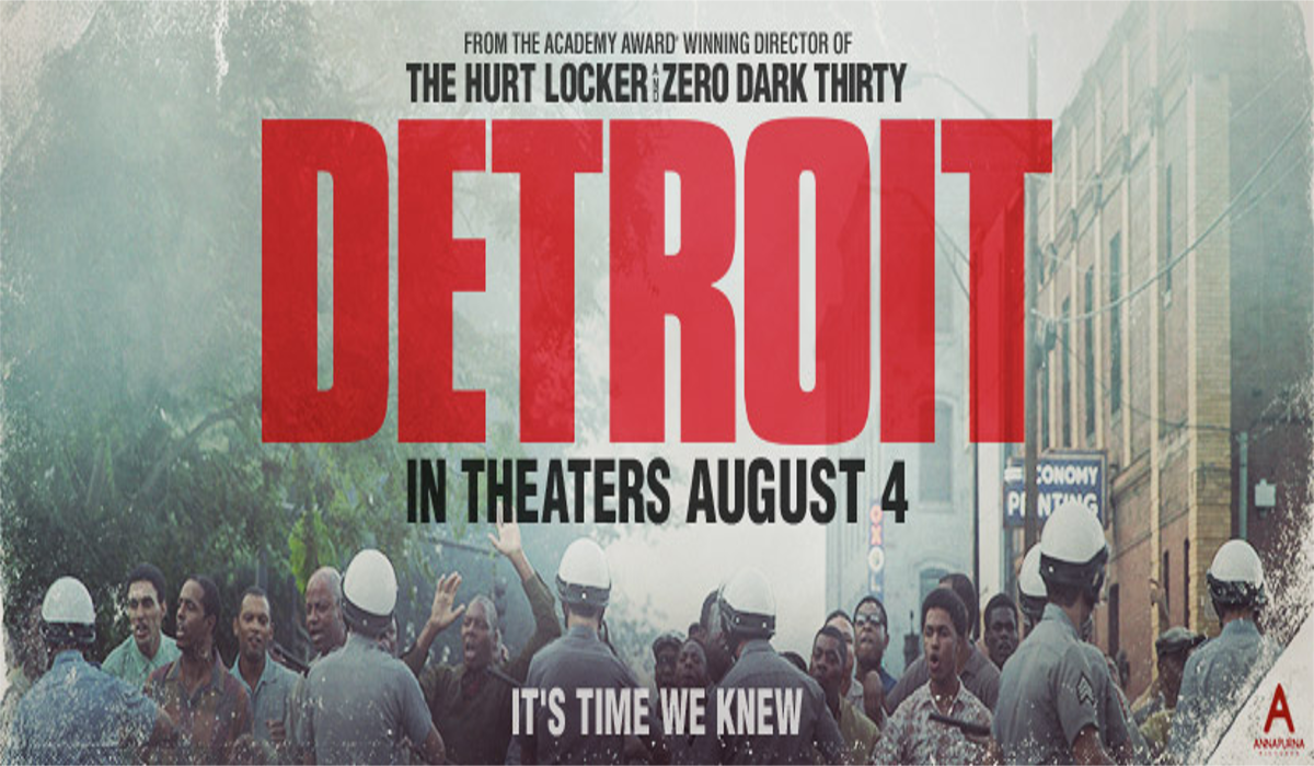 Detroit Official Movie Poster Premiere London