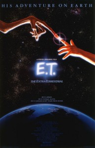 E.T. Iconic Movie Posters