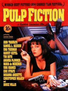 Pulp Fiction Iconic Movie Posters