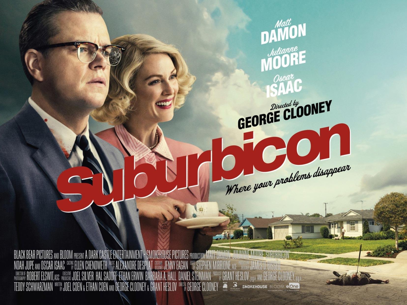 Suburbicon Official Film Poster