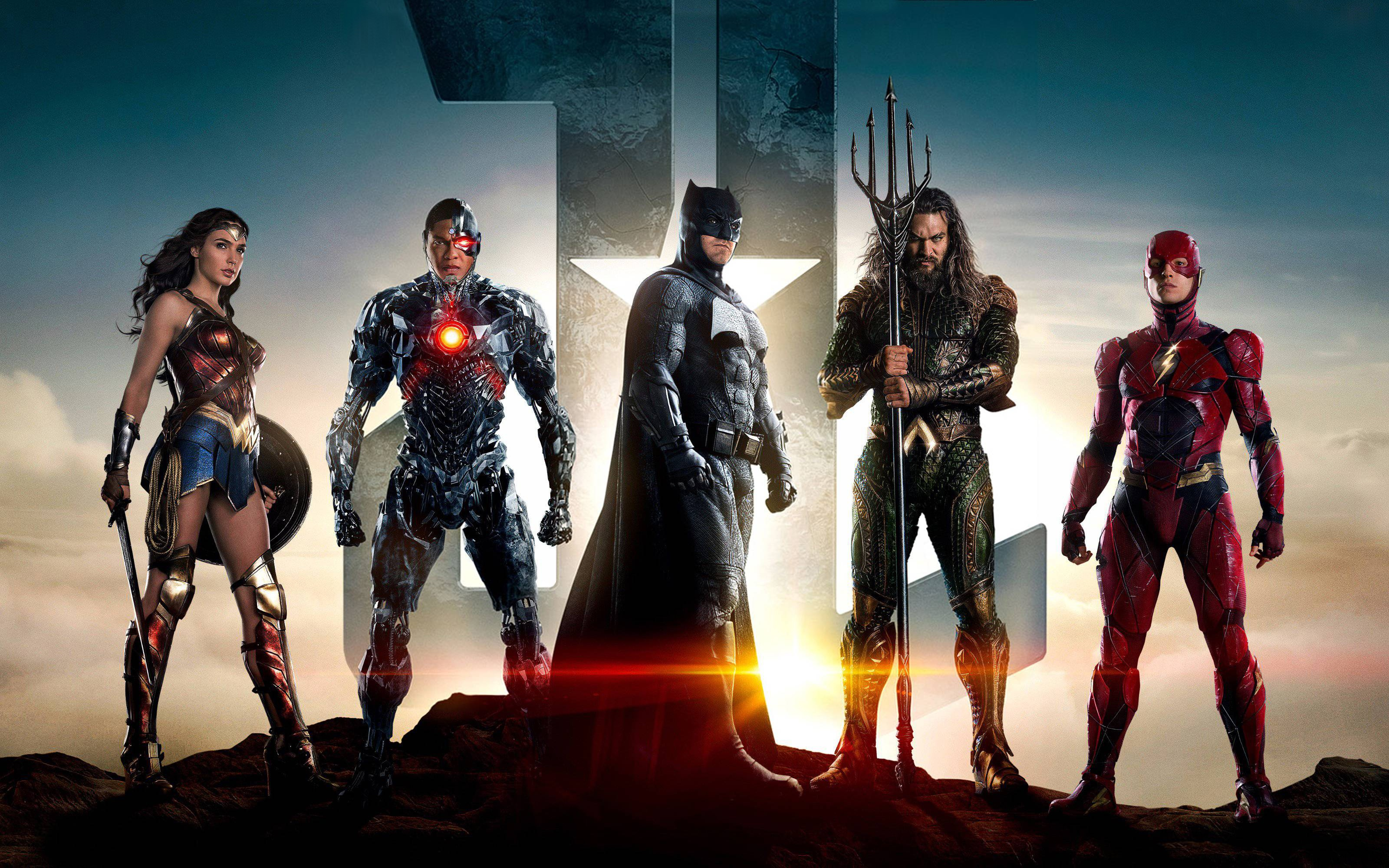 Justice League Official Movie Wallpaper