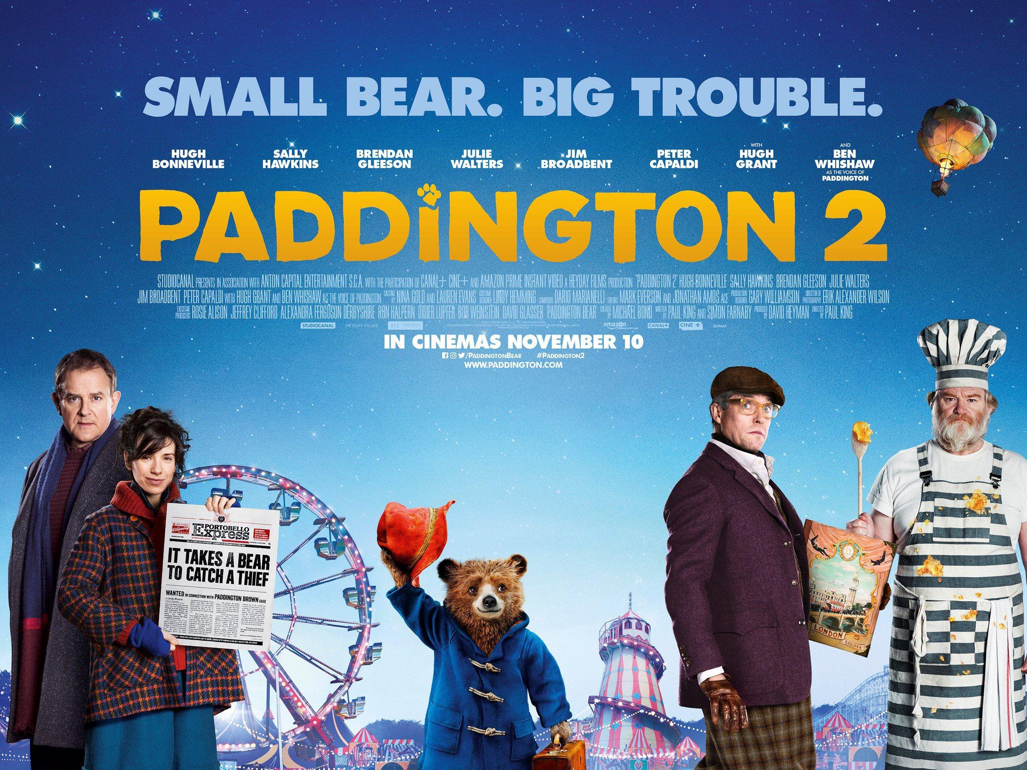Paddington 2 Official Movie Poster