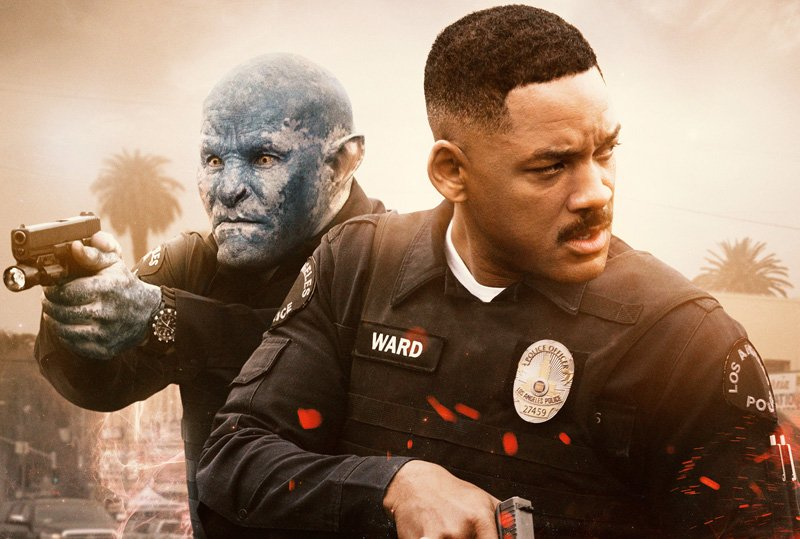 Netflix Bright Official Movie Poster