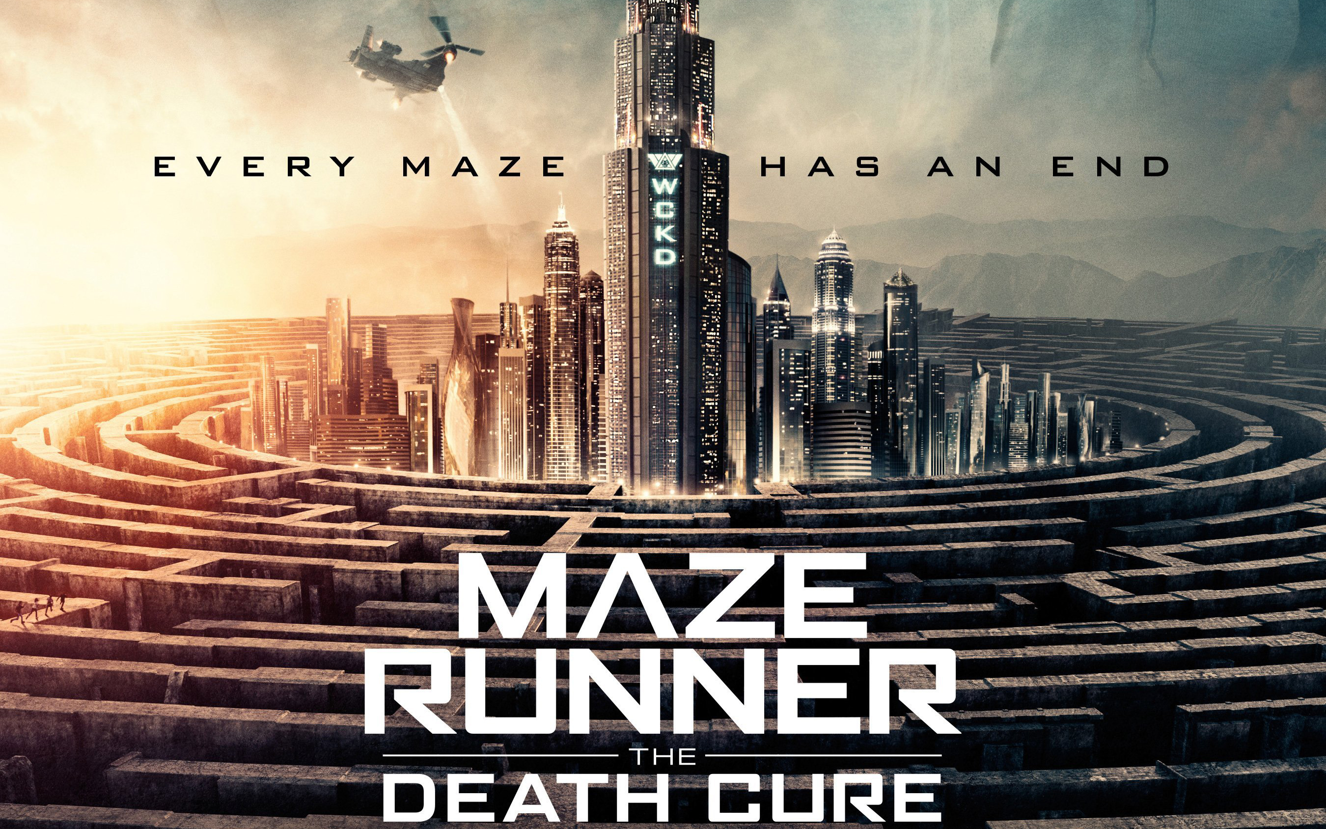 Maze Runner The Death Cure a Official Movie Poster
