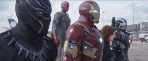 "Team Iron Man consists of War Machine a.k.a James ""Rhodey"" Rhodes, Black Widow a.k.a Natasha Romanoff, Vision, Black Panther a.k.a T'Challa. #TeamIronMan Marvel's cinematic universe"