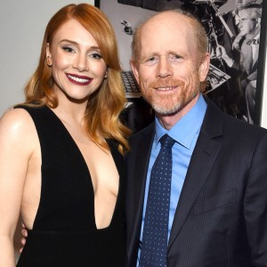 Ron Howard and Bryce Dallas Howard (Photo: Larry Busaca/Getty Images for DGA)